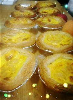 枇杷山楂美味蛋挞