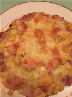 里脊鲜虾披萨