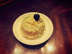 果蔬土豆泥蛋糕