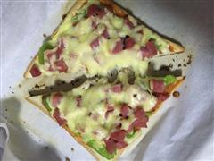 快手土司版披萨