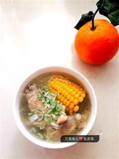 冬日排骨两吃-干锅排骨-玉米排骨汤