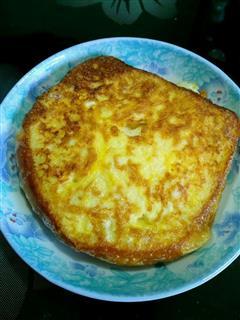 奶香土司鸡蛋饼