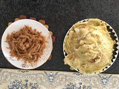 鸡蛋葱花煎饼