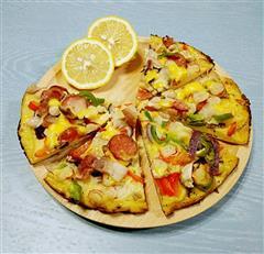 平底锅简易披萨