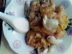 鱿鱼虾米蛋炒饭