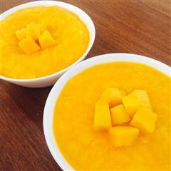 最好吃好做的芒果双皮奶