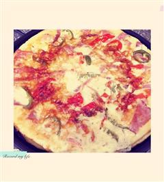 辣味培根披萨