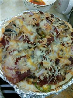告别必胜客,在家自己做披萨