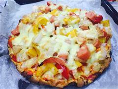 石子馍披萨