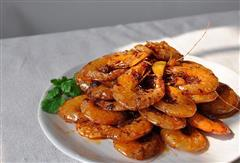 麻辣油焖大虾