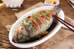 年夜饭-清蒸鲈鱼