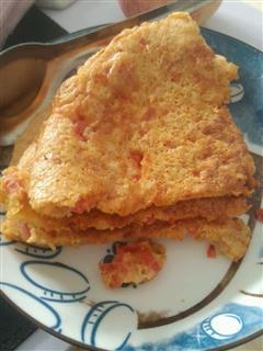 西红柿燕麦鸡蛋饼