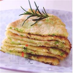 十分钟早餐 西葫芦香煎饼