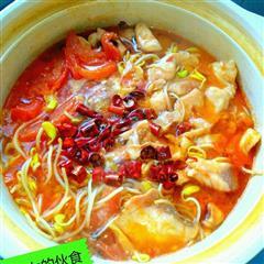 西红柿版水煮鱼片