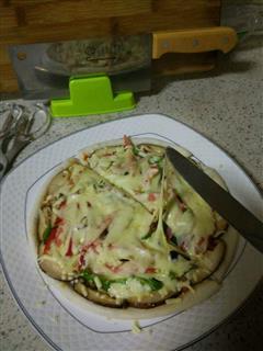 微波炉披萨