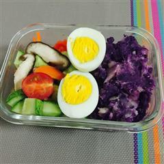 紫薯土豆泥沙拉