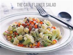 西式沙拉-三色黎麦花菜沙拉