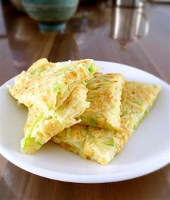 5分钟早餐-西葫芦鸡蛋饼