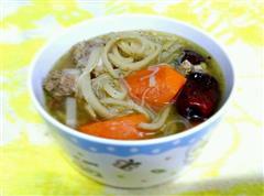 武汉鱼面排骨汤