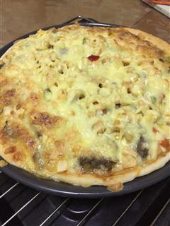 完爆bsk的牛排披萨
