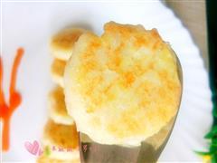 鸡蛋土豆泥饭饼