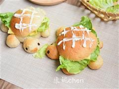 小乌龟全麦面包