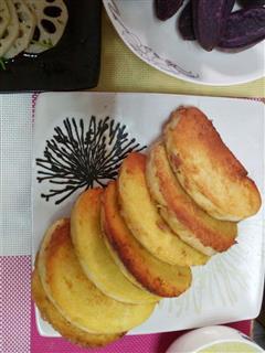 早餐香煎馒头片