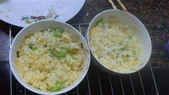 烤箱蛋炒饭