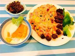 杂烩炒饭/番茄鸡蛋炒饭