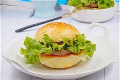 牛肉汉堡-满足味蕾
