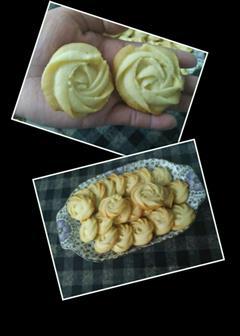 黄油原味曲奇饼干