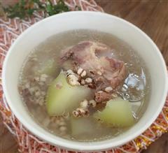 清甜薏仁冬瓜排骨汤
