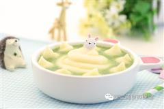 宝宝辅食微课堂  西兰花土豆泥