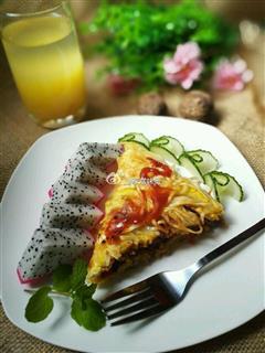 鸡蛋挂面煎饼