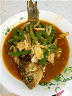 青椒水煮鱼
