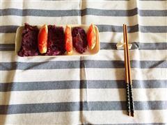 牛奶紫薯煎饼—早餐杂粮味