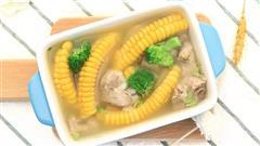 宝宝辅食微课堂  玉米排骨汤