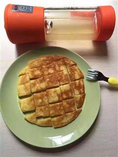 黄桃鸡蛋饼