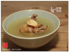 黄芪鸽子汤-药补不如食补