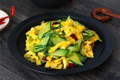 家常黄瓜炒鸡蛋 超级美味简单快手菜