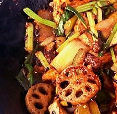 麻辣香锅+牛肉
