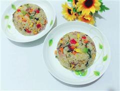 五彩蔬菜蛋炒饭
