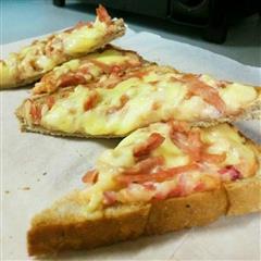 懒人土司披萨