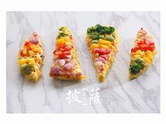 彩虹方便面披萨