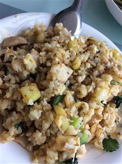 土豆鸡胸肉蛋炒饭,美味,超赞,易做,传统