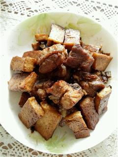 糖醋排骨豆腐