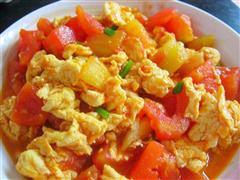 西红柿炒鸡蛋  宝宝下饭菜