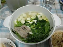 小白菜豆腐排骨汤
