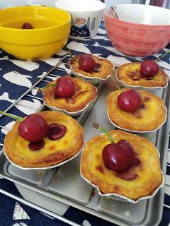 蛋挞-樱桃蛋挞
