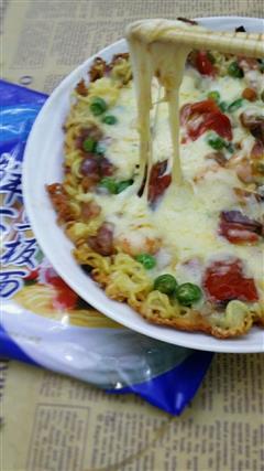 鲜虾面披萨